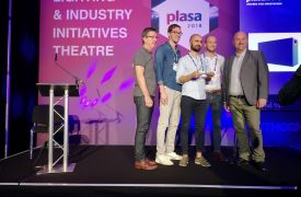 PLASA 2018 Innovationspreise - Gewinner: Holoplot ORION