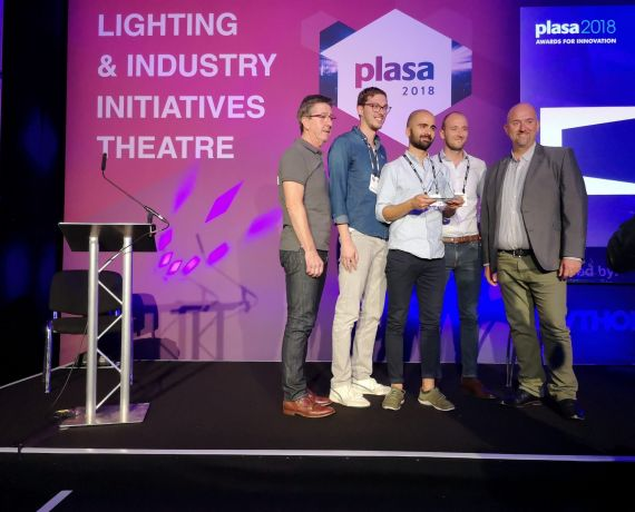 Holoplot's ORION system awarded the PLASA Innovation Award 2018