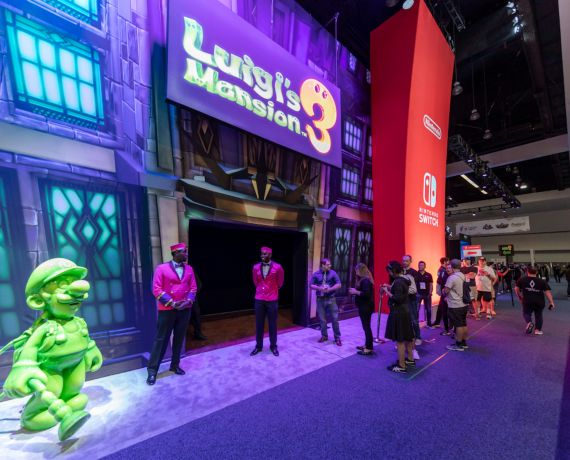 Holoplot immerses E3 2019 visitors in the exciting world of Luigi's Mansion 3®
