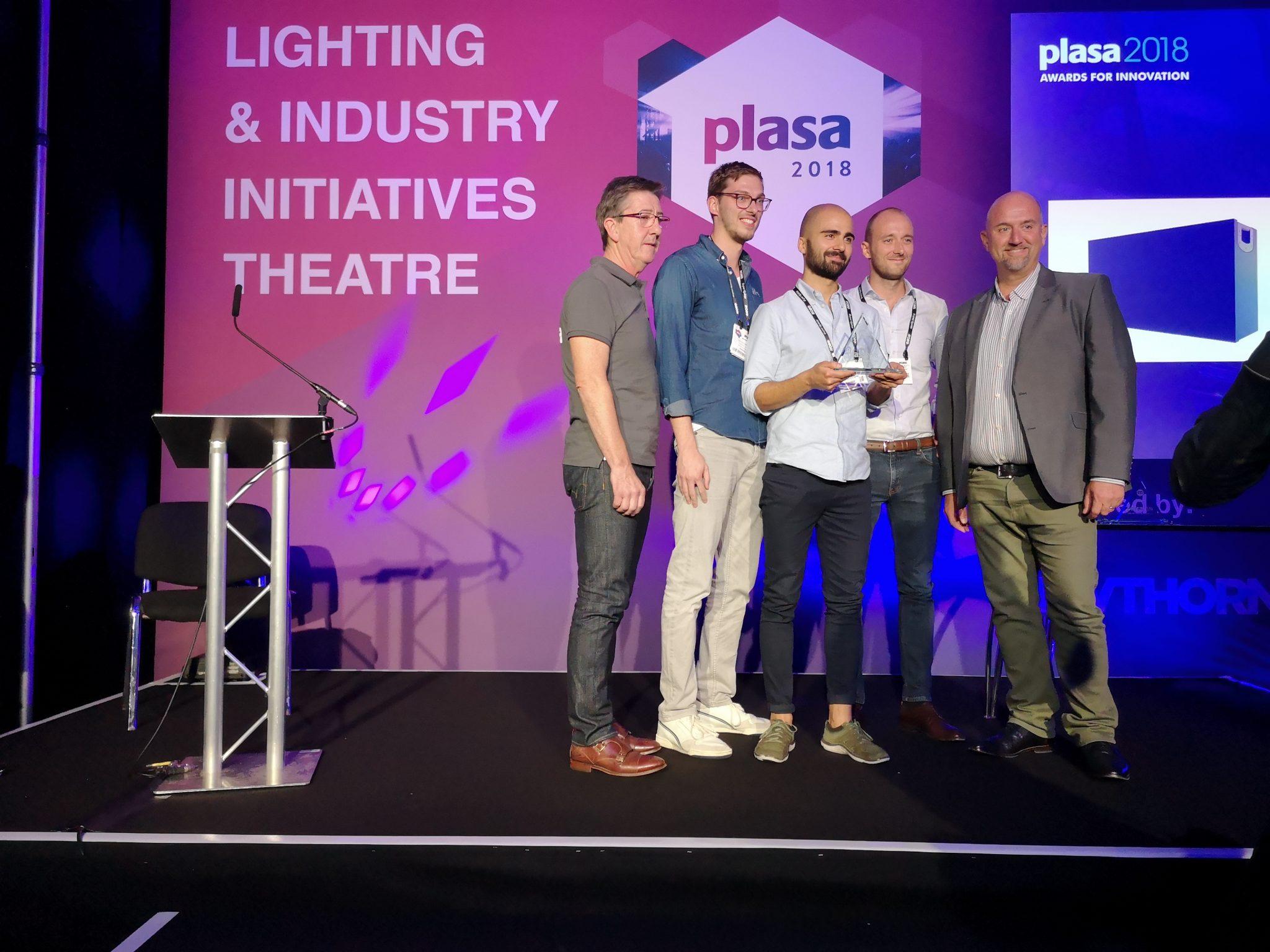 PLASA 2018 Awards for Innovation - WINNER: Holoplot Orion