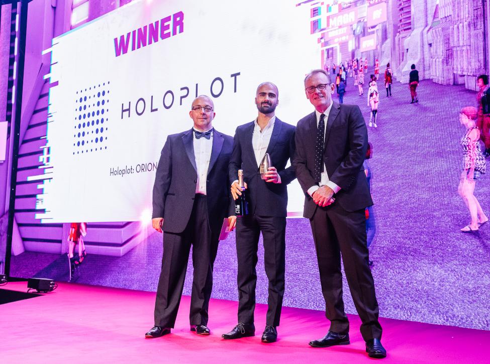 Roman Sick (CEO) at the AV Awards 2019. Photo: AV Magazine
