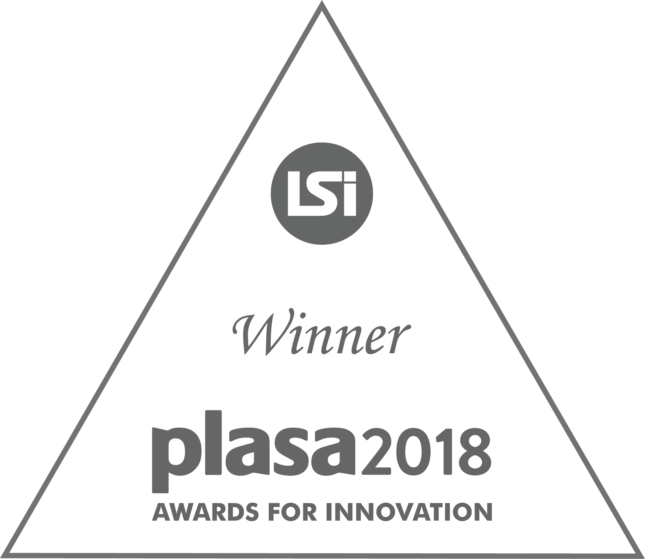 Holoplot PLASA Supplier Innovation Award 2018